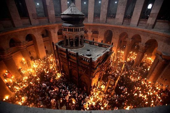 The Church of the Holy Sepulcher - Consecrated 335 AD